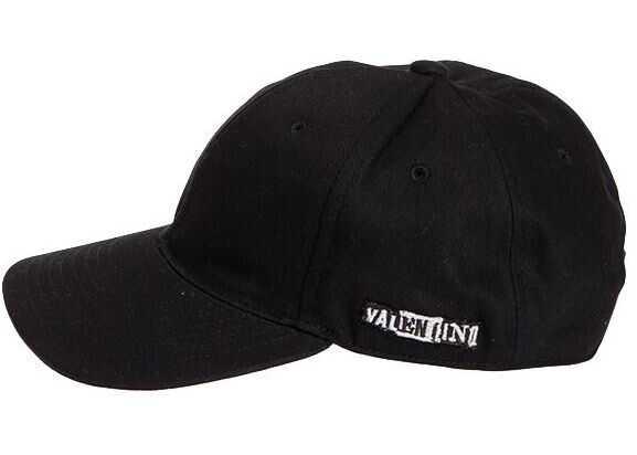Valentino Garavani Cotton Hat Black