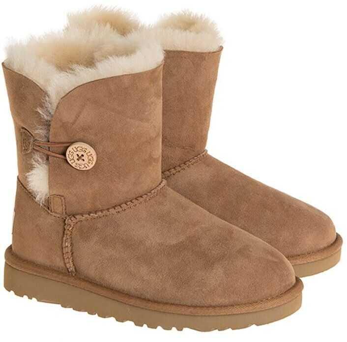 UGG Bailey Button Boots Camel