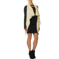 Cardigane Polaris Women's Knit Fluffy Cardigan In Ivory* Femei