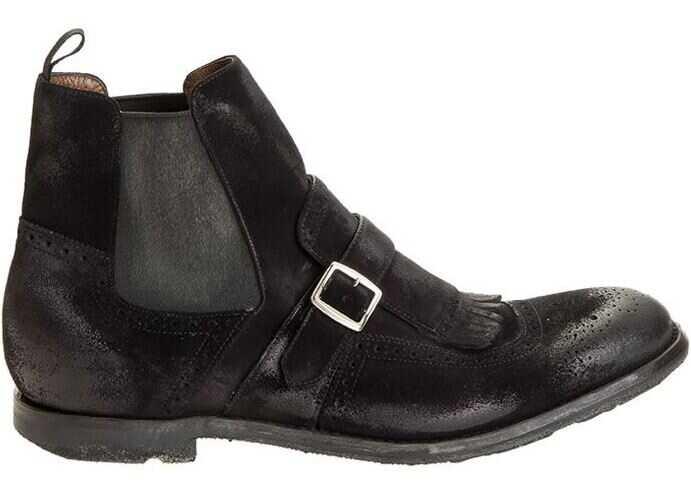 Churchs Shanghai Boots Black