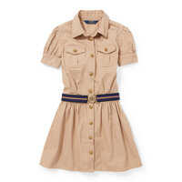 Rochii Cotton Chino Belted Shirtdress* Fete
