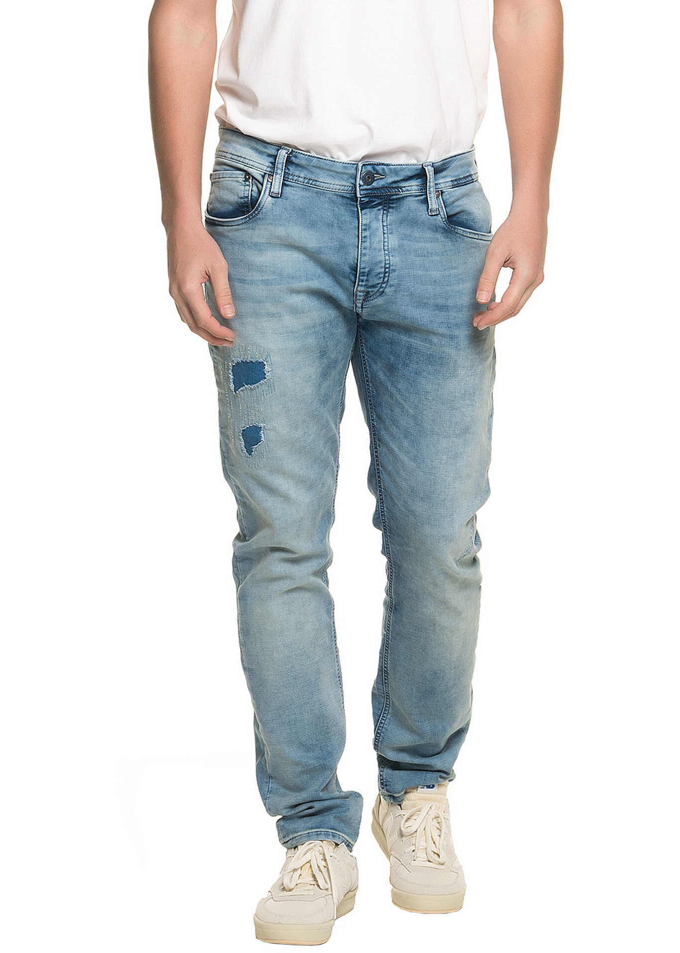 Jack & Jones Tim Org Jeans Men's Jeans* Blue Denim