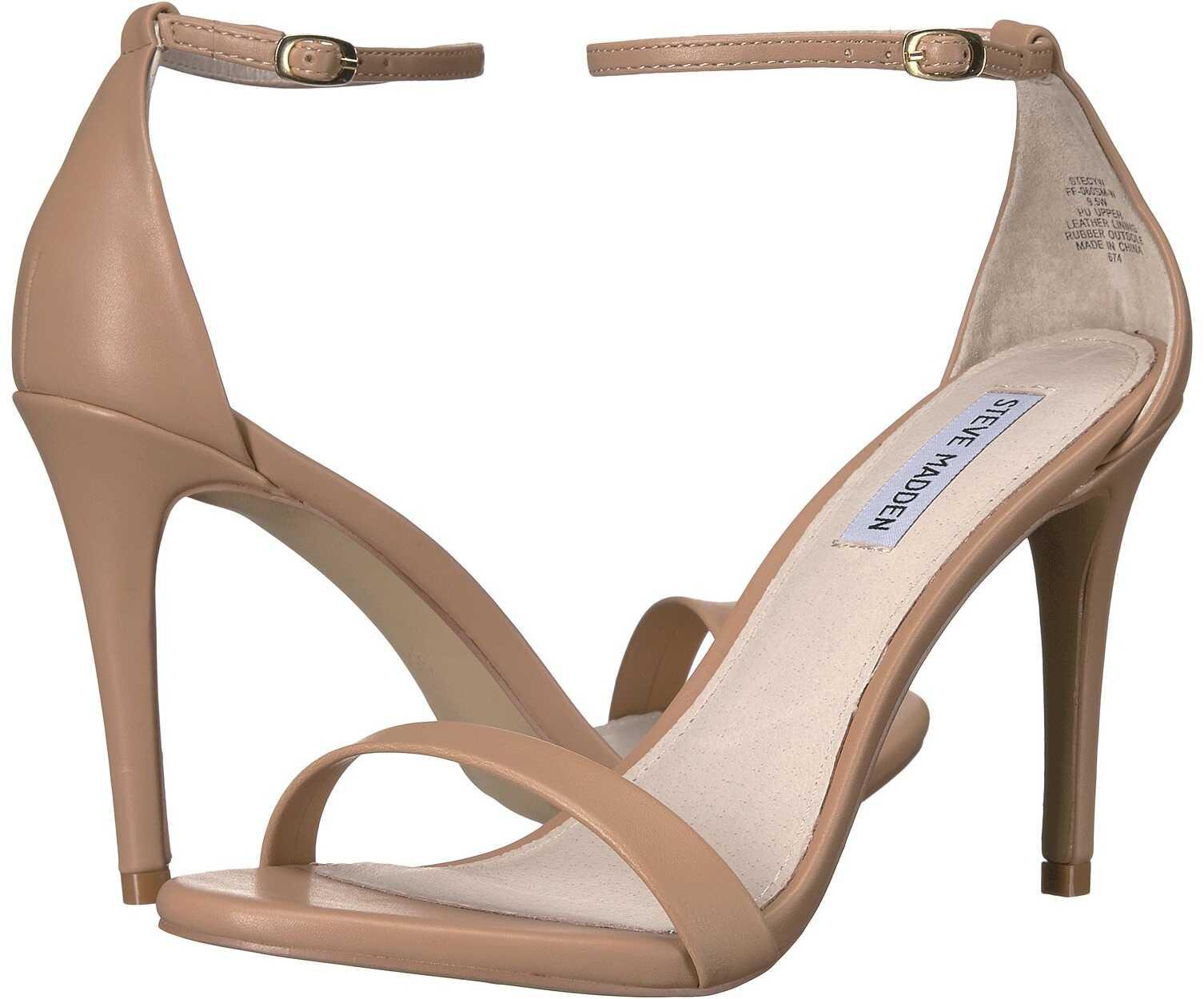 Steve Madden Stecy Stiletto Sandal Natural