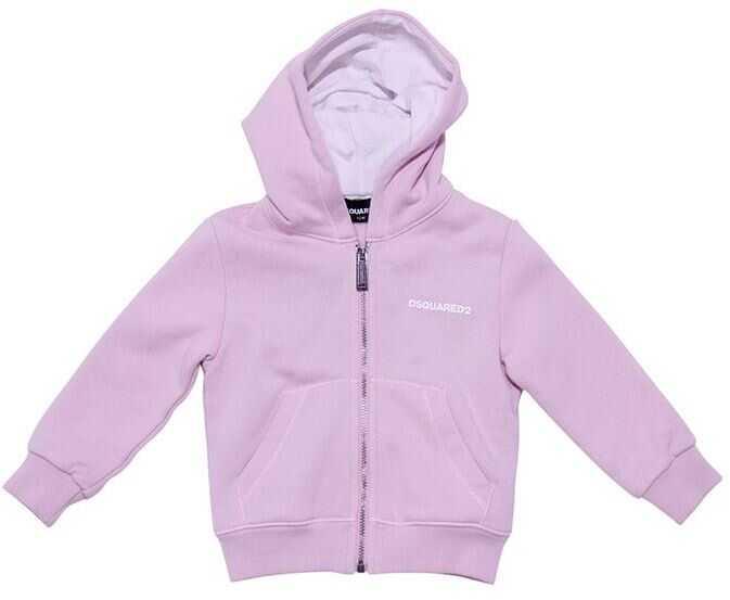 DSQUARED2 Cotton Sweatshirt Pink
