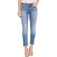 Blugi Skinny Crop & Roll w/ Squiggle in Willow Ridge* Femei