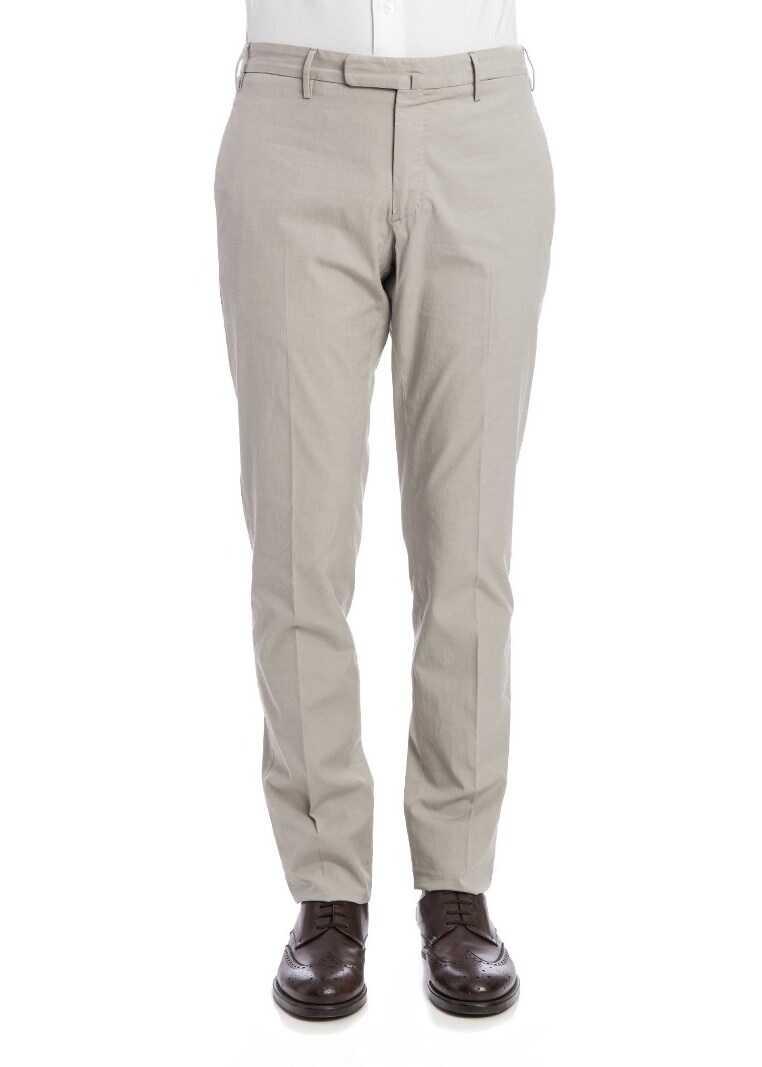 Incotex Stretch Cotton Trousers* Gray