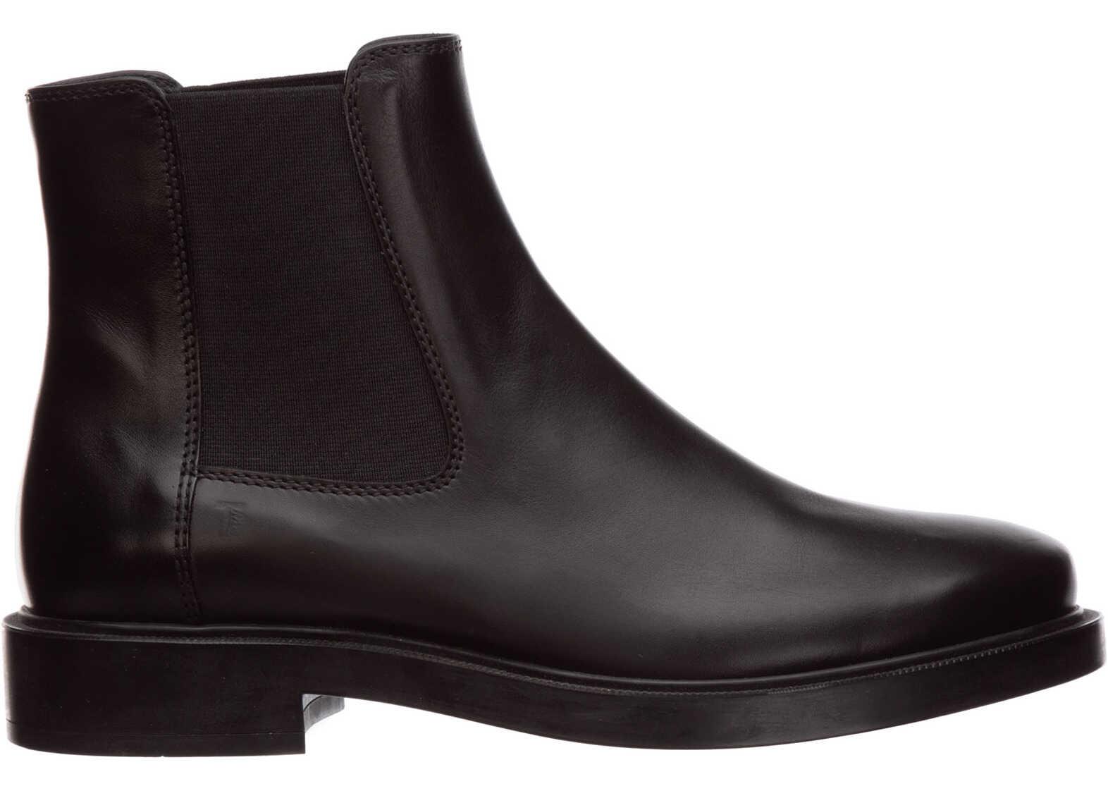 TOD'S Boots Booties XXW0ZP0V830GOCB999 Black imagine b-mall.ro