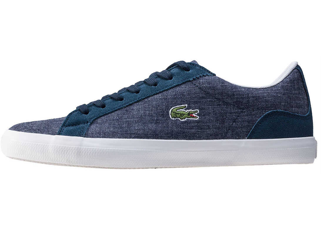 Lacoste Lerond 217 1 Trainers In Navy Blue