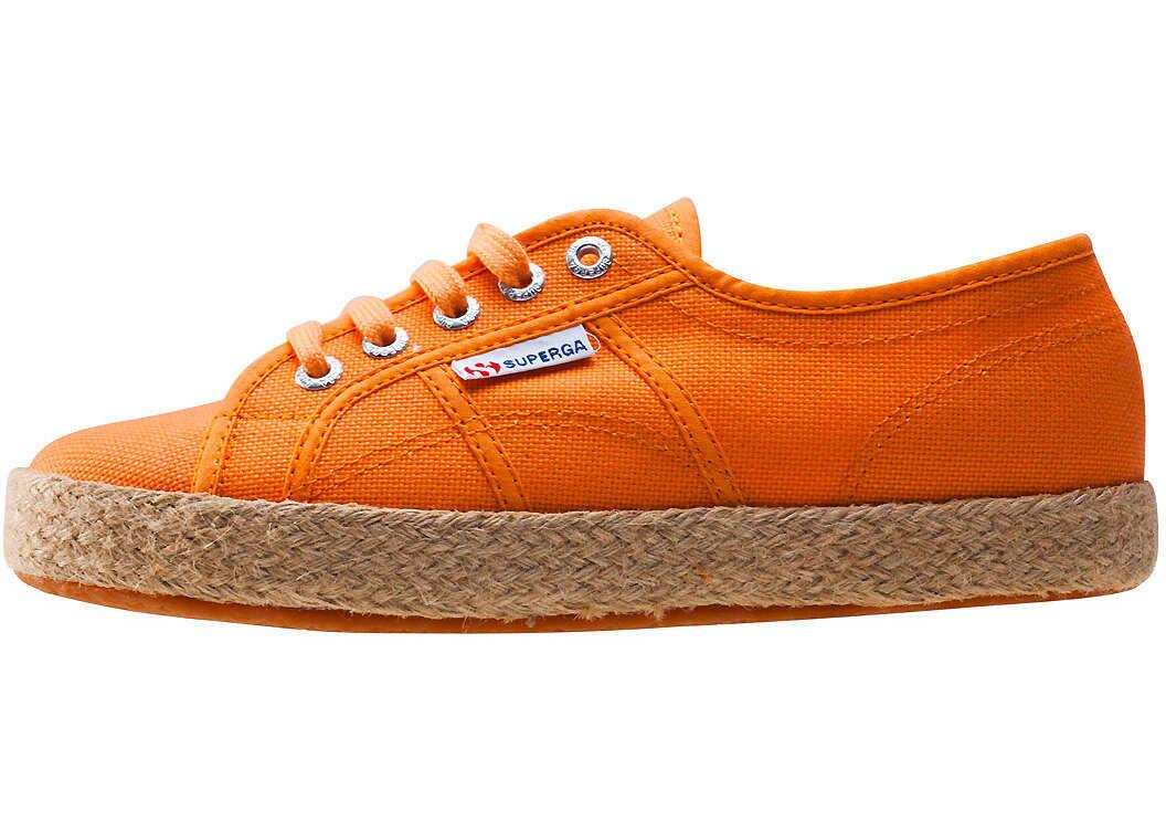 Superga 2750 Rope Trainers In Orange Orange