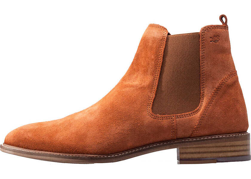 Ghete & Cizme Barbati London Brogues Hamilton Chelsea Boots In Tan
