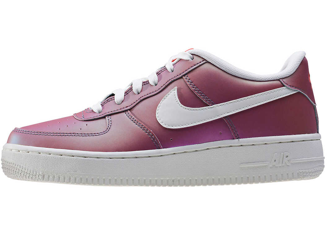 Nike Air Force 1 Lv8 (Gs) Kids Trainers In Purple Pink Purple