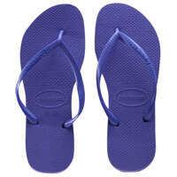 Slapi Slim Flip Flops In Purple Femei