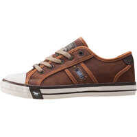 Tenisi & Adidasi Rubber Toe Cap Casual Low Trainers In Chestnut Femei