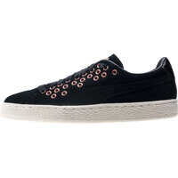 Tenisi & Adidasi Suede Xl Lace Velvet Rope Trainers In Black Femei