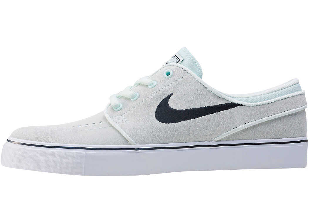 Nike SB Stefan Janoski Gs Kids Trainers In Light Green Green