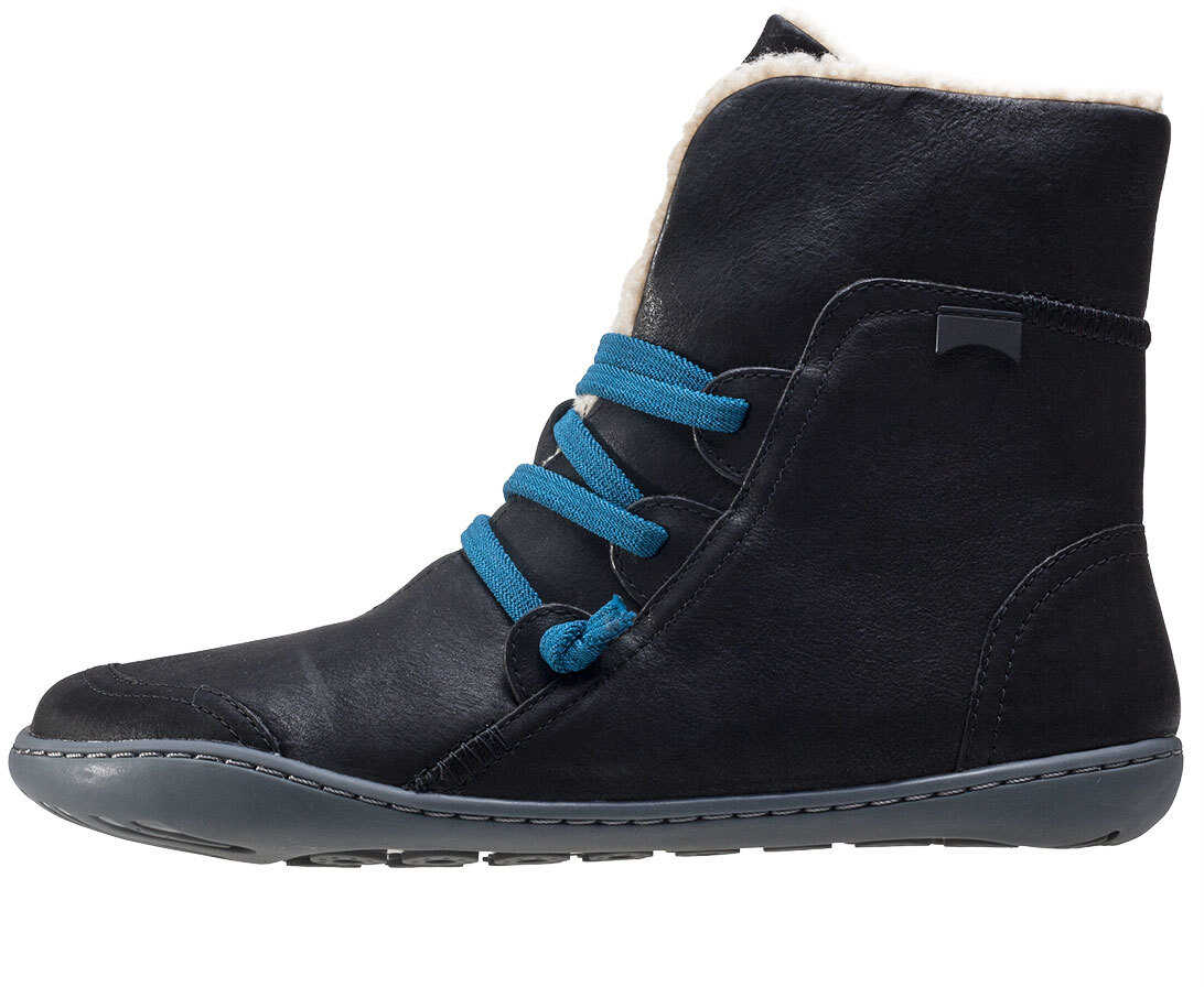 Camper Peu Cami Hi Boots In Black Blue Black