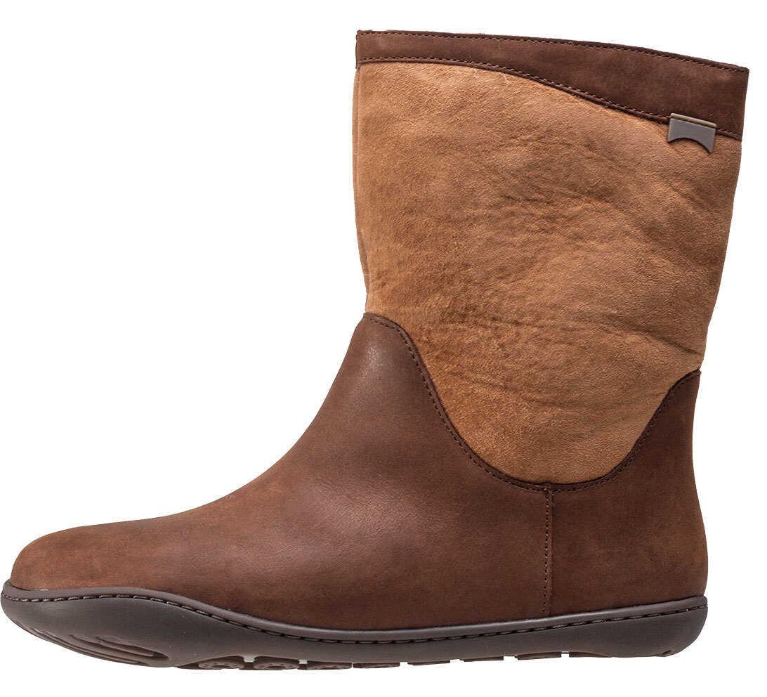 Camper Peu Cami Hi Boots In Brown Tan Brown