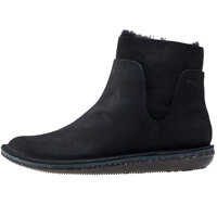 Ghete & Cizme Beetle Mid Ankle Boots In Black Femei