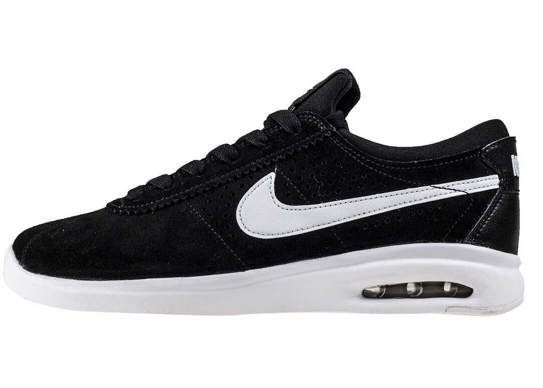 Nike SB Air Max Bruin Vapor Gs Kids Trainers In Black White Black