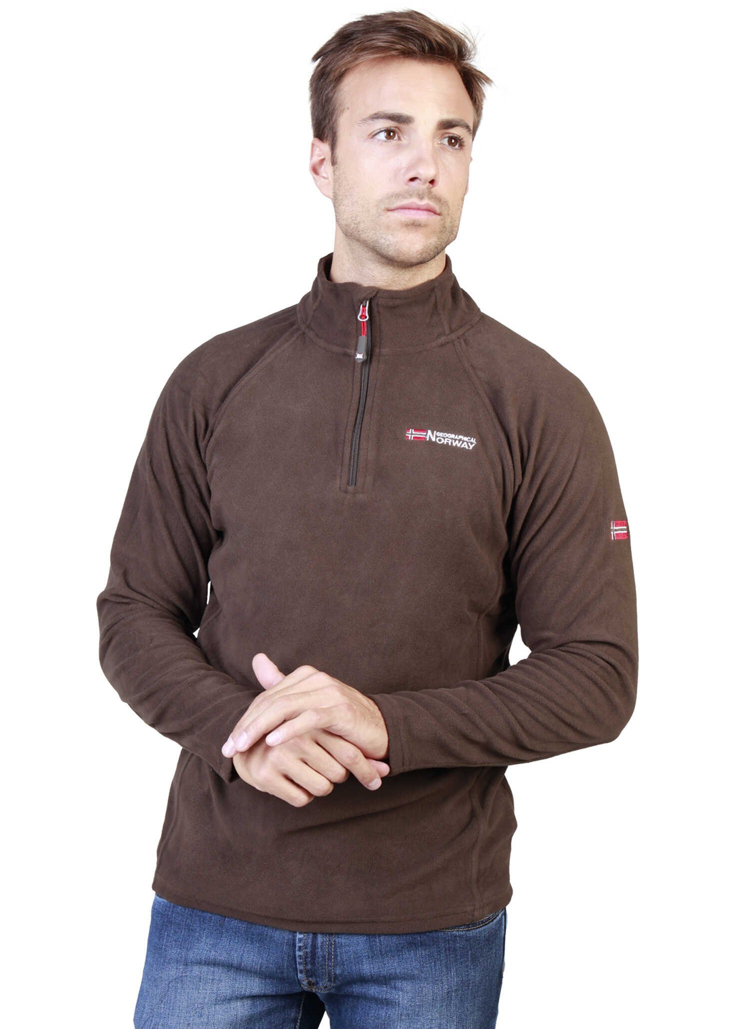 Geographical Norway Tug_Man Brown
