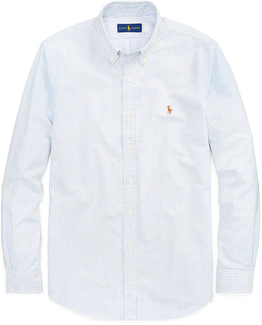 Ralph Lauren Classic Fit Cotton Shirt* Blue/white