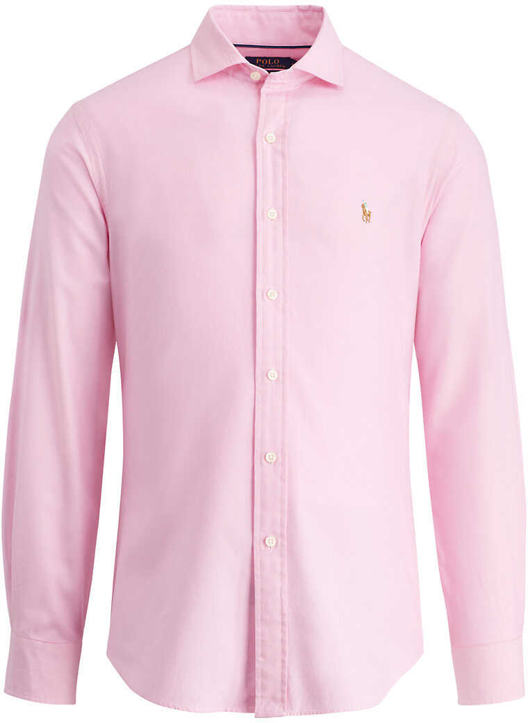 Ralph Lauren Slim Fit Cotton Oxford Shirt* Pink/white