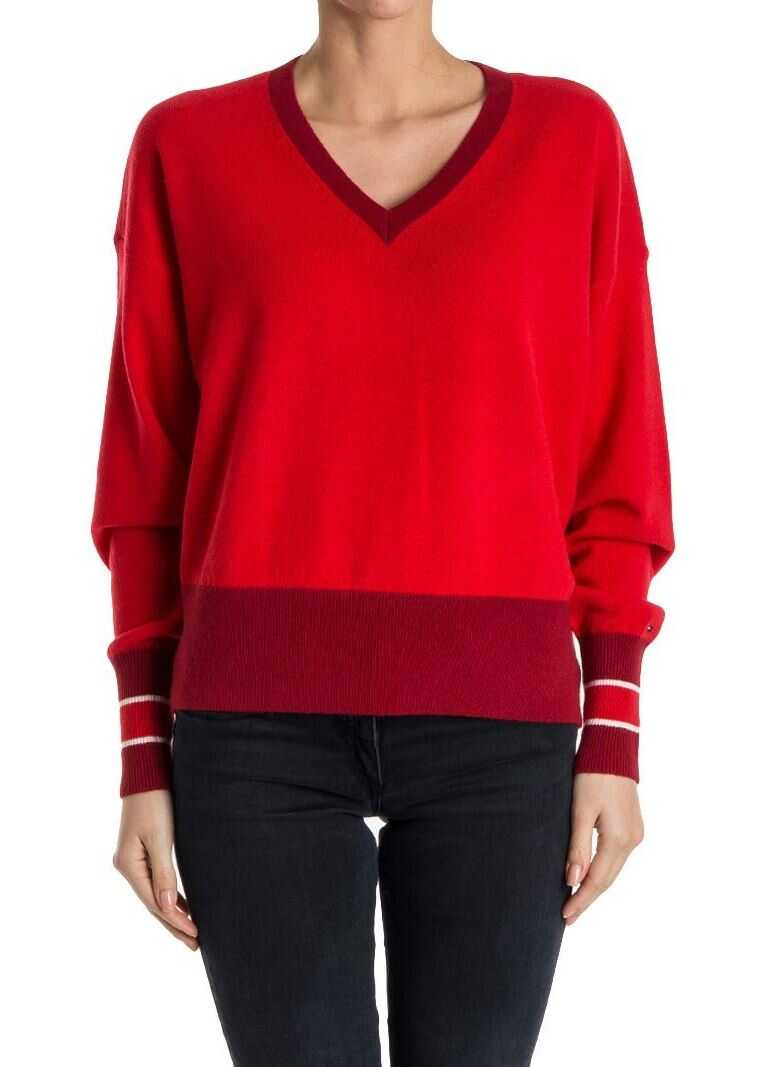 Tommy Hilfiger Wool Sweater Red