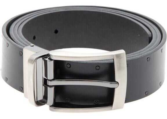 Karl Lagerfeld Reversible Belt Black