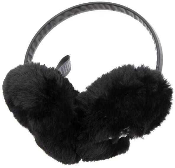 Karl Lagerfeld Signature Earmuffs Black