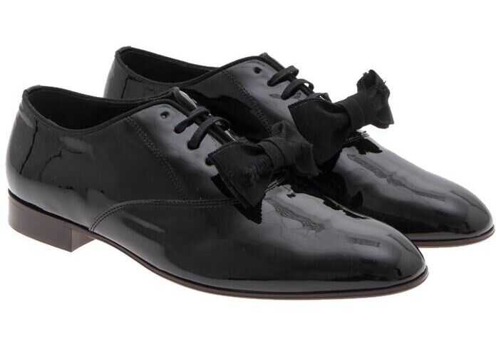 Vivienne Westwood Painted Leather Shoes Black