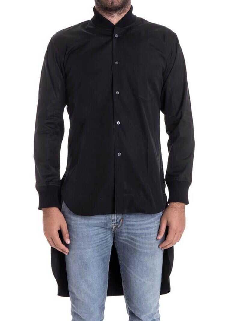 Comme des Garçons Cotton Shirt Black imagine