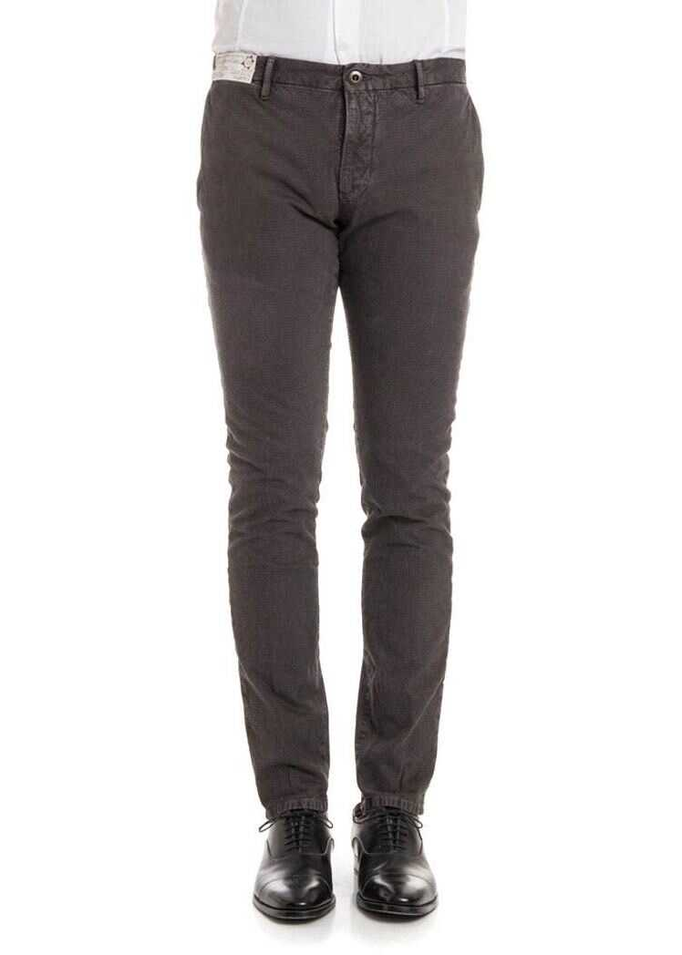 Incotex Cotton Trousers Brown