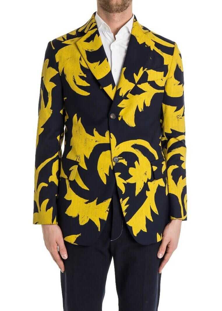 Vivienne Westwood Wool Jacket Blue imagine