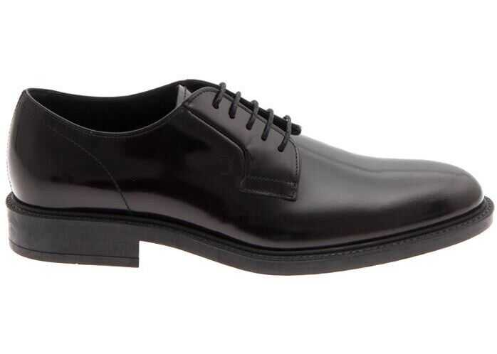 TOD'S Black Derbys With Rubber Sole Tods XXM45A0H370AKTB999 Black imagine b-mall.ro