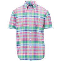 Camasi Classic Fit Plaid Cotton Shirt* Barbati