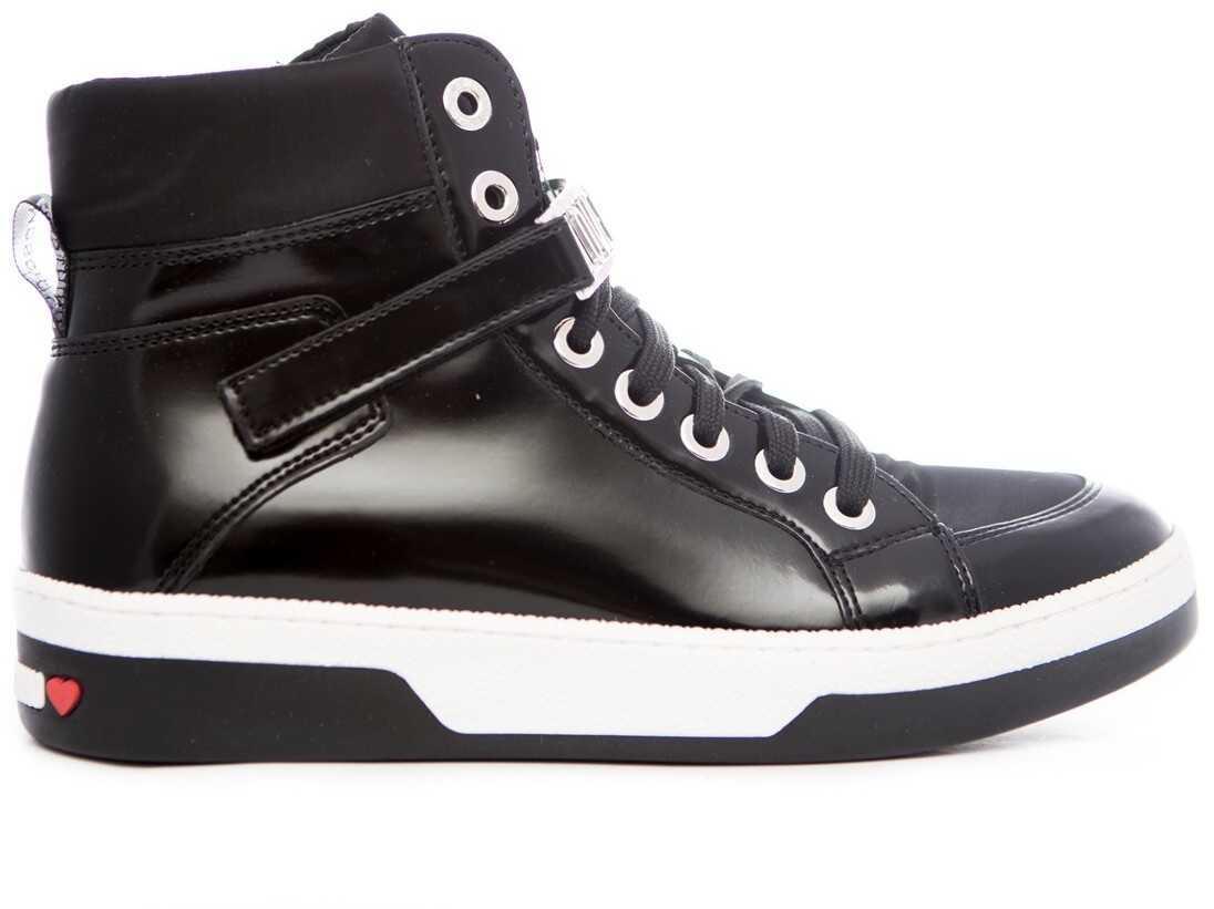 Love Moschino Sneakers Scarpad. Love 30* Czarny
