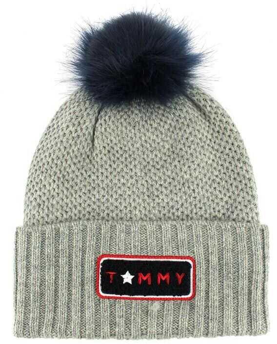 Tommy Hilfiger Wool Blend Cap Gray