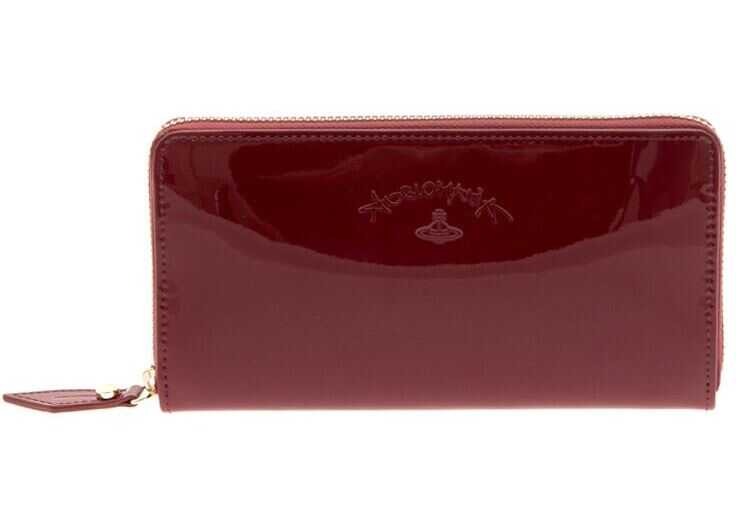 Vivienne Westwood Anglomania Kelly Wallet Red