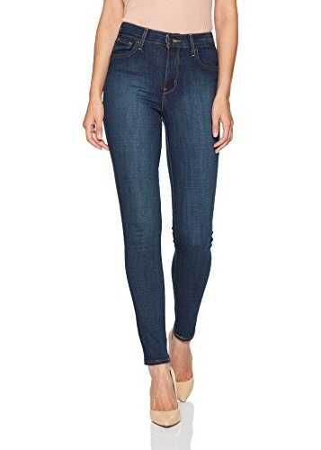 Levis® Womens 721 High Rise Skinny Jeans Blue Story