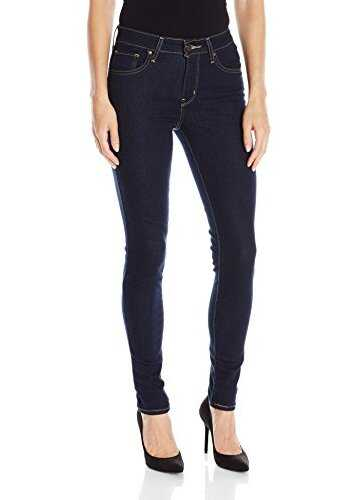 Levis® Womens 721 High Rise Skinny Jeans Cast Shadows