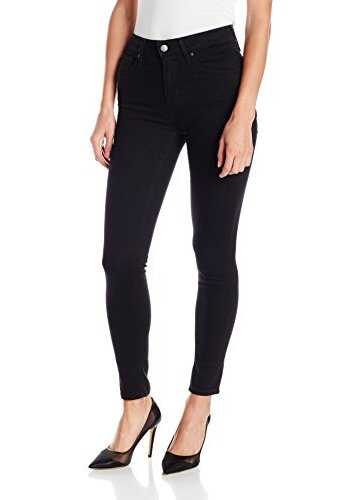 Levis® Womens 721 High Rise Skinny Jeans Soft Black