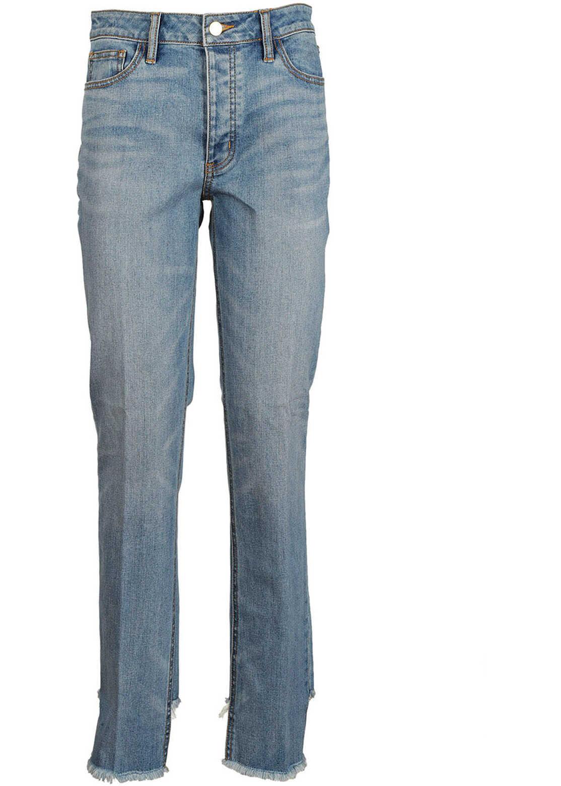 Tory Burch Strechthose Jeans Blue