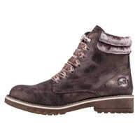 Ghete & Cizme Mocca Metallic Comb Ankle Boots In Brown* Femei
