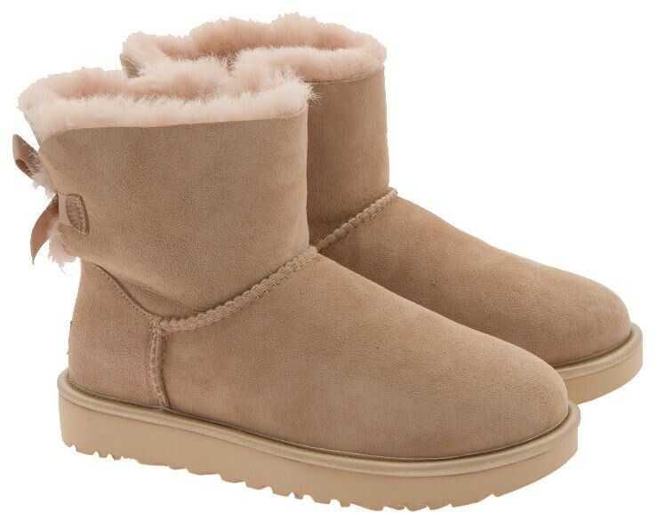 UGG Mini Bailey Boots Beige