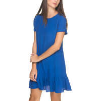 Rochii Women's Blue Dress Femei