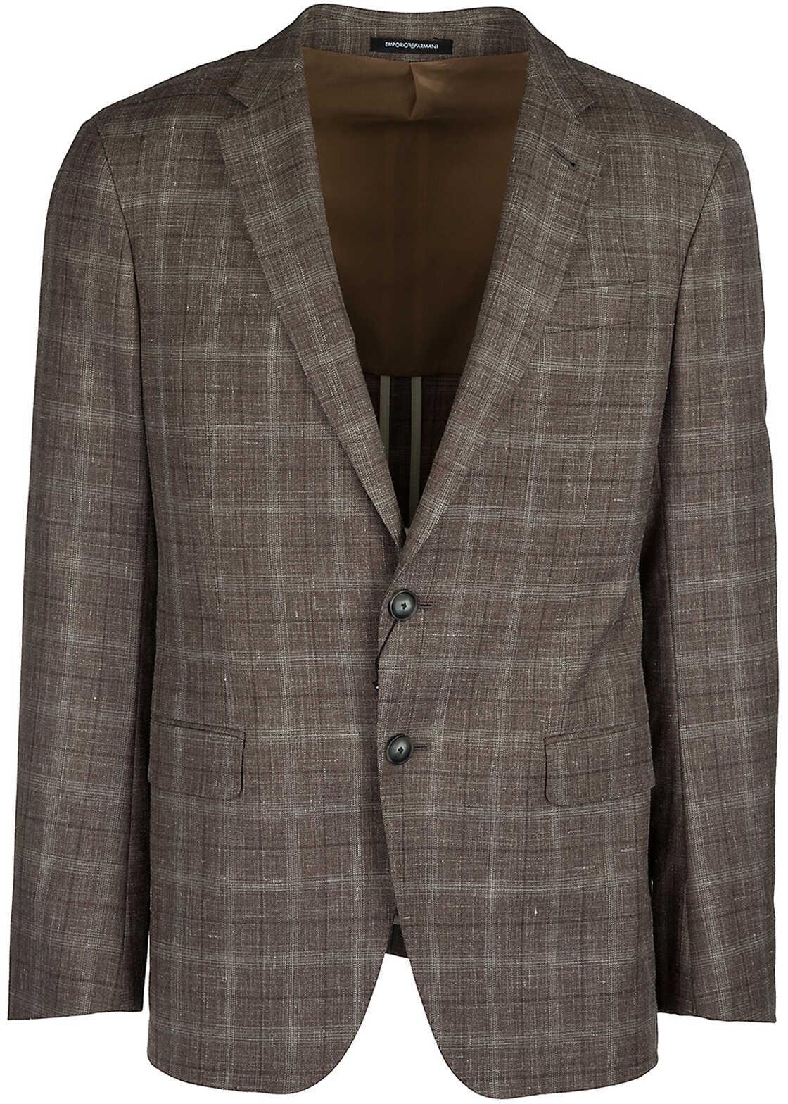 Emporio Armani Jacket Blazer Brown