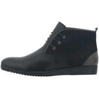 Ghete & Cizme Men's Booties In Black Color Barbati