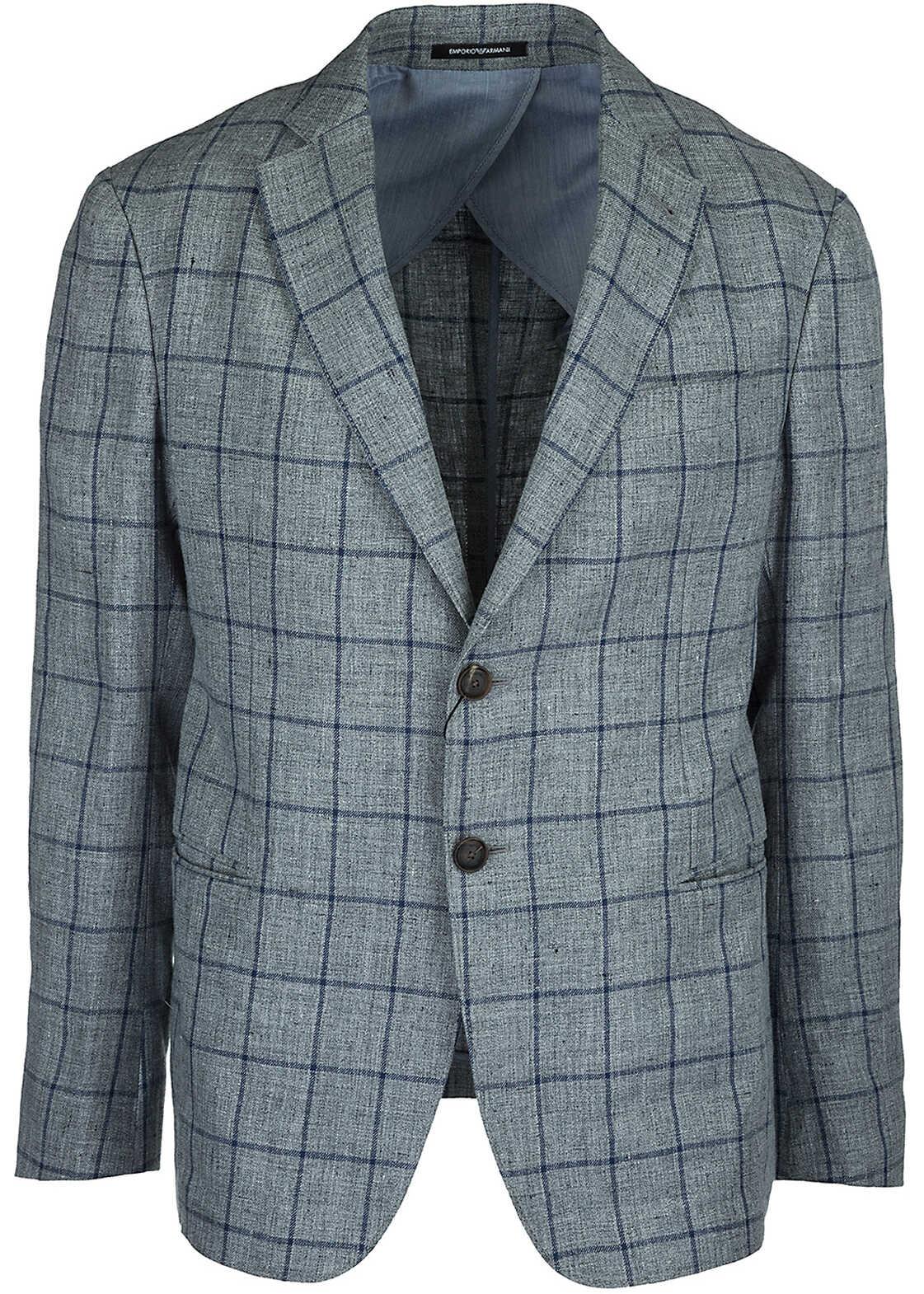 Emporio Armani Jacket Blazer Grey