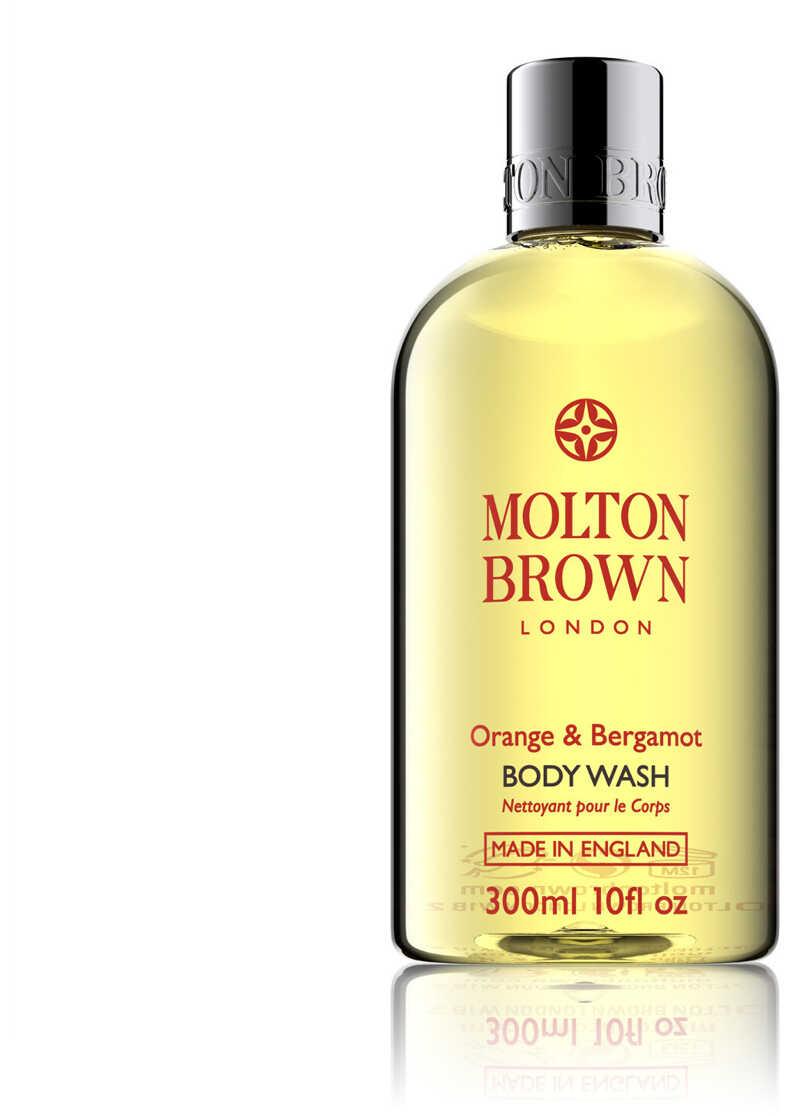 Molton Brown Orange Bergamot Bath Shower Gel 300Ml Yellow