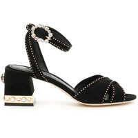Sandale Suede Keira Sandals With Micro Studs Femei